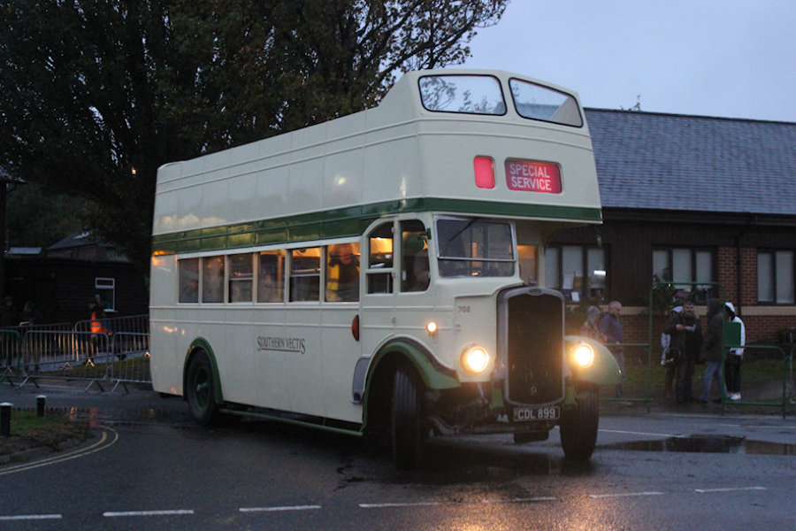 A bus on Rydabus